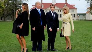 Melania Trump Sajikan Menu Makan Malam Spesial untuk Macron