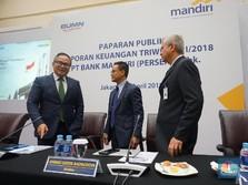 Laba Bank Mandiri Triwulan I-2018 Capai Rp 5,9 T, Naik 43,7%