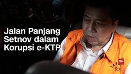 VIDEO: Jalan Panjang Setnov dalam Korupsi e-KTP
