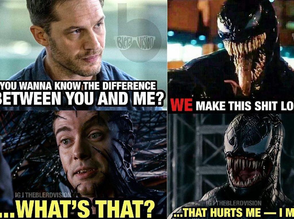 Meme Kocak Venom Banjiri Media Sosial