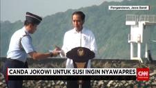 Presiden Jokowi Sindir Menteri Susi Mau Nyapres