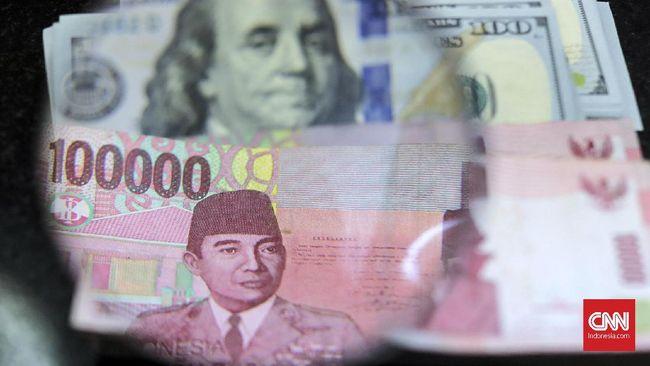Dolar AS Banjir Peminat, Rupiah Anjlok ke Rp14.145