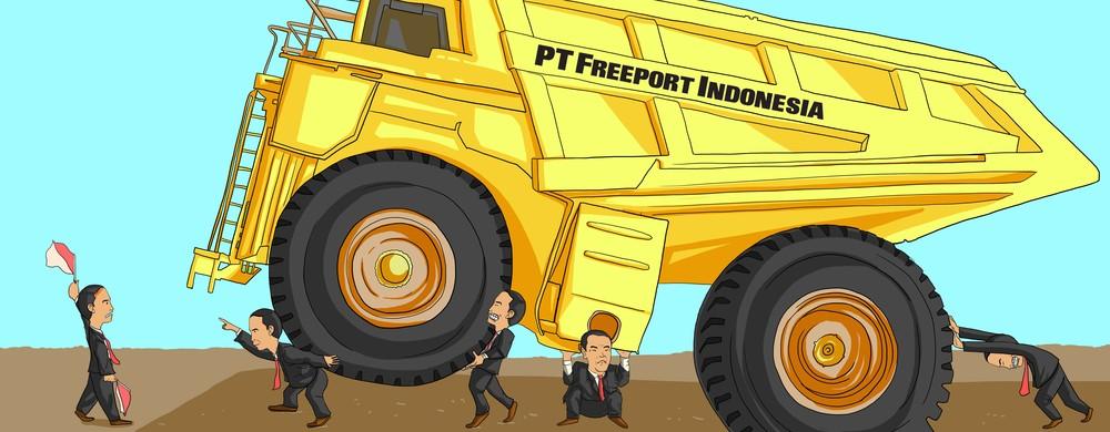Freeport, Dari Divestasi Sampai Renegosiasi