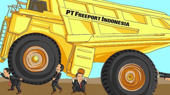 PT Inalum (Persero) mengklaim memiliki dana tunai Rp 20 triliun. Dana ini bakal dimanfaatkan untuk akuisisi divestasi saham PT Freeport Indonesia sebesar 51%.