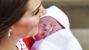FOTO: Wajah Anak Ketiga Pangeran William-Kate Middleton