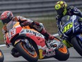 Rossi Akhirnya Tersenyum Lihat Marquez di MotoGP Italia