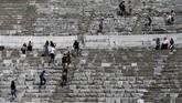 Di bawah pemerintahan Kerajaan Romawi, Ephesus didesain sebagai ibu kota provinsi baru di Asia.(Anadolu Agency/Mahmut Serdar Alakuş)