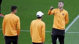 FOTO: Persiapan AS Roma Jelang Duel Lawan Liverpool