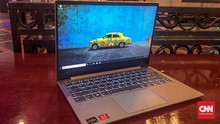 Lenovo IdeaPad 720S Laptop Tipis, Bisa untuk Powerbank
