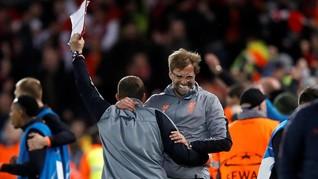 Klopp Usai Kalahkan AS Roma 5-2: Liverpool Bukan Barcelona
