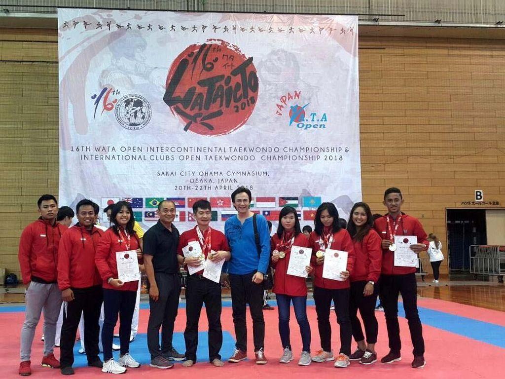 Taekwondoin UTI Pro Sukses di WATA Open Intercontinental Championship