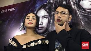 Raffi Ahmad-Nagita Slavina Bikin Vlog bersama Ma'ruf Amin