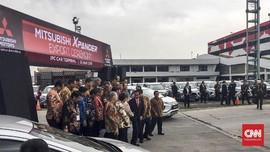 Jokowi Hadir Resmikan Ekspor 400 Unit Xpander ke Filipina