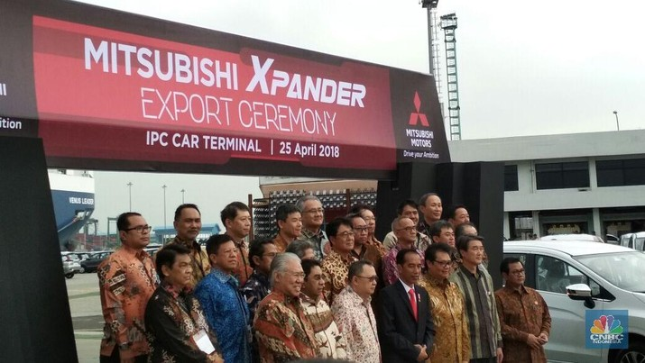 Mitsubishi hari ini mengekspor perdana Xpander.