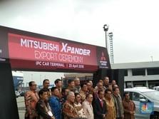 Jokowi Resmikan Ekspor Xpander ke Filipina
