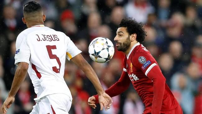 FOTO: Drama Tujuh Gol Liverpool vs AS Roma di Liga Champions