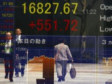 Ramai Ambil Untung, Bursa Tokyo Anjlok 1%