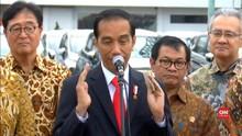 Jokowi Sebut Pencabutan Larangan Terbang Eropa Hadiah Lebaran