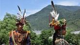 Saat ini terdapat kurang lebih 550 ribu orang pribumi di Taiwan. Itu setara dengan 2,3 persen dari total penduduk Taiwan yang jumlahnya hanya 23 juta jiwa. (ANTARA FOTO/Prasetyo Utomo)