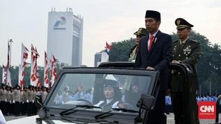 Jokowi Puji Korps Wanita TNI-Polri Lembut tapi Tegas