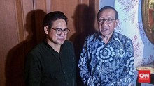 Akbar Tandjung Sebut Cak Imin Cocok 'Duet' dengan Jokowi