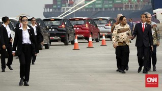 Peringati Hari Kartini, Jokowi Dikawal Paspampres Perempuan