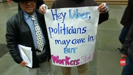 VIDEO: Uber & Lyft Kembali Diprotes Sopir Taksi Konvensional