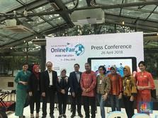 Garuda Targetkan Rp 180 Miliar dari Online Travel Fair