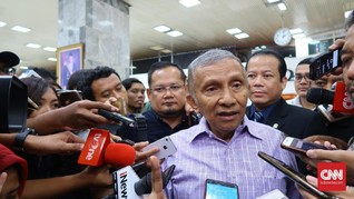 Amien Rais Sebut Nawacita Jokowi Jadi Nawasengsara