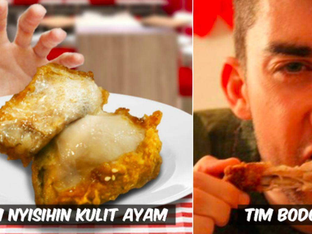 Bisa Bikin Berantem! 8 Meme Ini Tunjukkan Betapa Berharganya Kulit Ayam