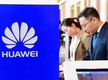 Trump Bujuk Sekutu Blokir Produk Huawei Asal China