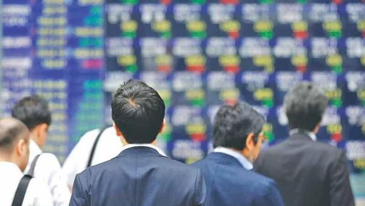 Sentimen Negatif Mendominasi, Bursa Saham Asia Melemah