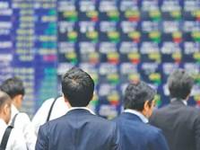 Reli Wall Street tak Mampu Gairahkan Bursa Jepang