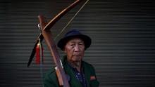 FOTO: Bertahan Tetap Memanah dan Berburu di Pedalaman China