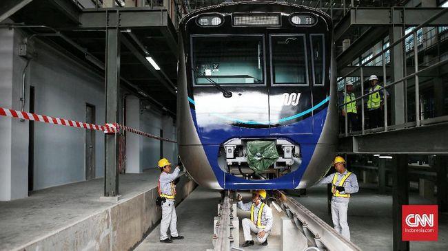 MRT Tak Kembalikan Uang Bila Penumpang Turun Sebelum Tujuan