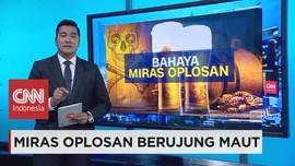 Berbahayanya Miras Oplosan Bagi Tubuh