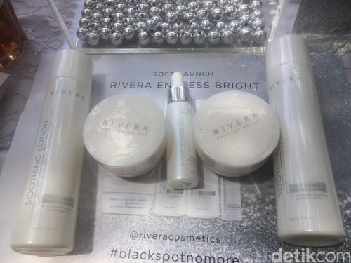 Rivera Rilis Rangkaian Produk untuk Wajah Lebih Cerah dalam Sebulan
