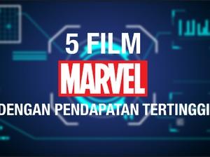 VIDEO: 5 Film Marvel Dengan Pendapatan Tertinggi