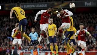 FOTO: Arsenal Gagal Kalahkan Atletico di Liga Europa