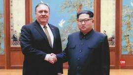 VIDEO: Menlu Baru AS Jabat Tangan Kim Jong-un