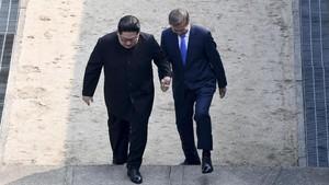 Kim Jong-un: Perbatasan Tak Terlalu Tinggi untuk Dilewati