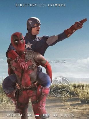 Super Kocak! Begini Jadinya Kalau Superhero Marvel dan DC Saling Bercanda