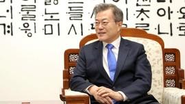 Perang Dagang Jepang vs Korsel, Moon Jae-in Isyaratkan Damai
