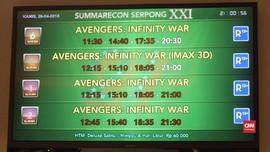 VIDEO: Kala Thanos 'Menjentikkan Jari' di Bioskop Indonesia