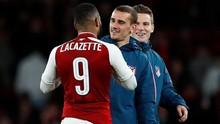 Fakta Arsenal vs Atletico: 2 Gol Dicetak Pemain Perancis