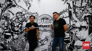 Markas Pencinta Marvel yang 'Dijaga' Thanos di Jakarta