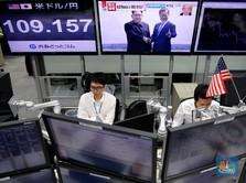Sempat Libur Awal Pekan, Bursa Tokyo Ditutup Menguat 0,44%