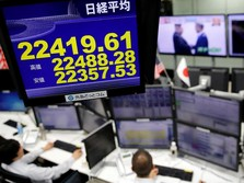 Indeks Nikkei Ditutup Menguat 0,09%