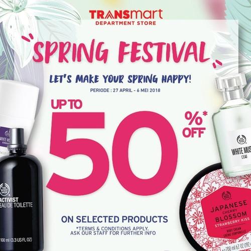 Cantik Memesona dengan Diskon Kosmetik di Transmart Carrefour