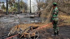 FOTO: Yang Tersisa dari Ledakan Sumur Minyak Ilegal di Aceh